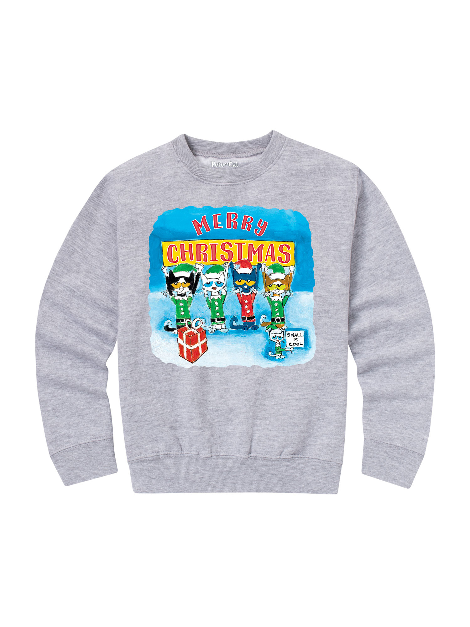Ptc Merry Cristmas - Toddler Crew Fleece