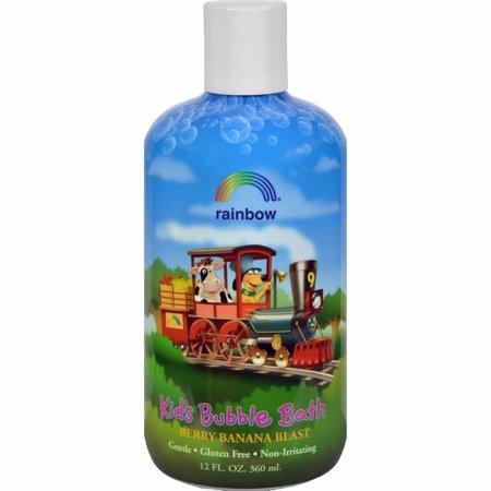 Banana Blast (Rainbow Research Organic Herbal Bubble Bath For Kids Berry Banana Blast - 12 Fl Oz )