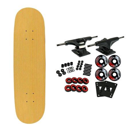 Moose Complete Skateboard NATURAL 7.5