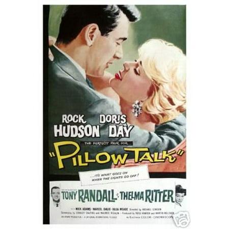 Pillow Talks Movie Poster - Doris Day - Rock Hudson New 12x18