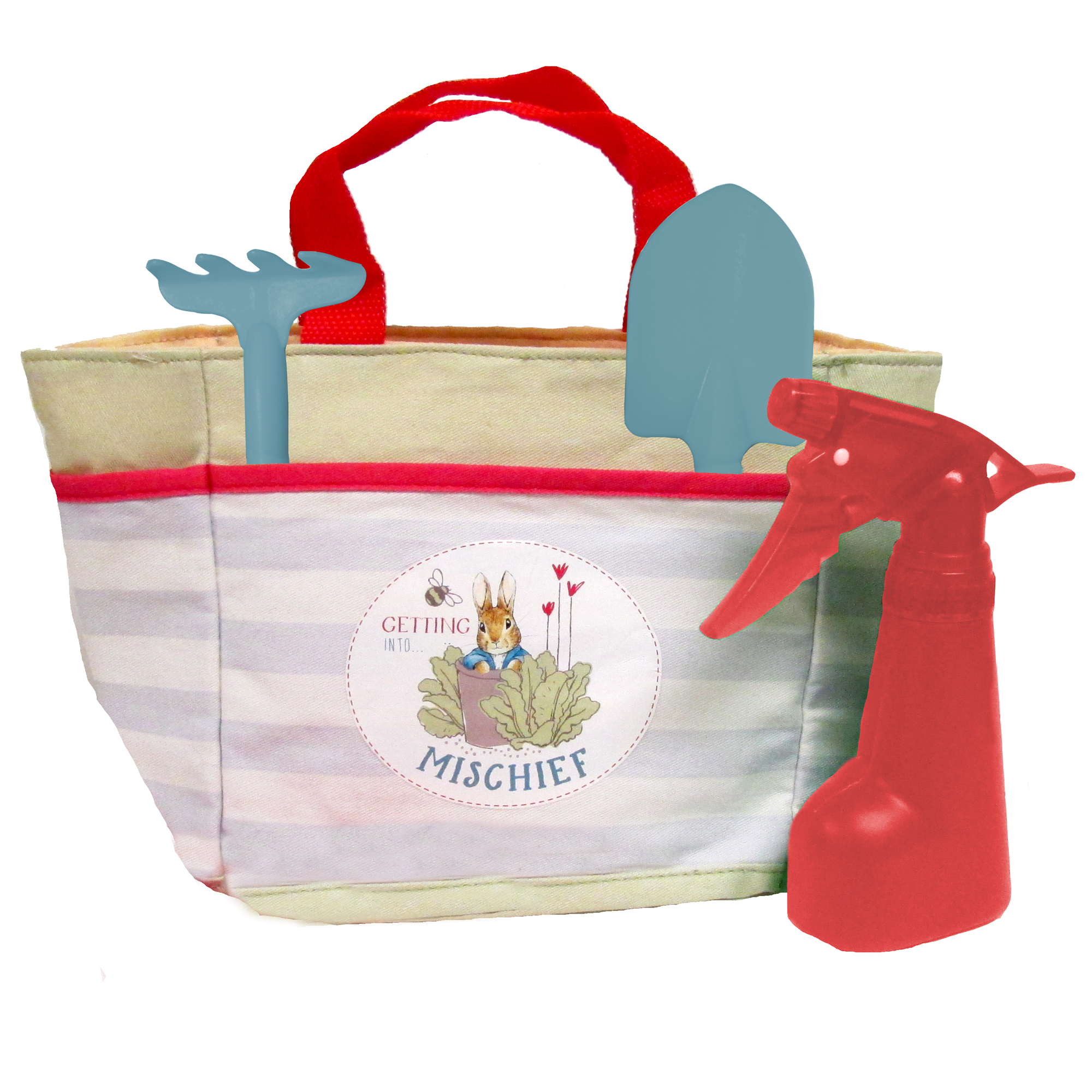 Beatrix Potter Small Gardening Set in Tote Bag