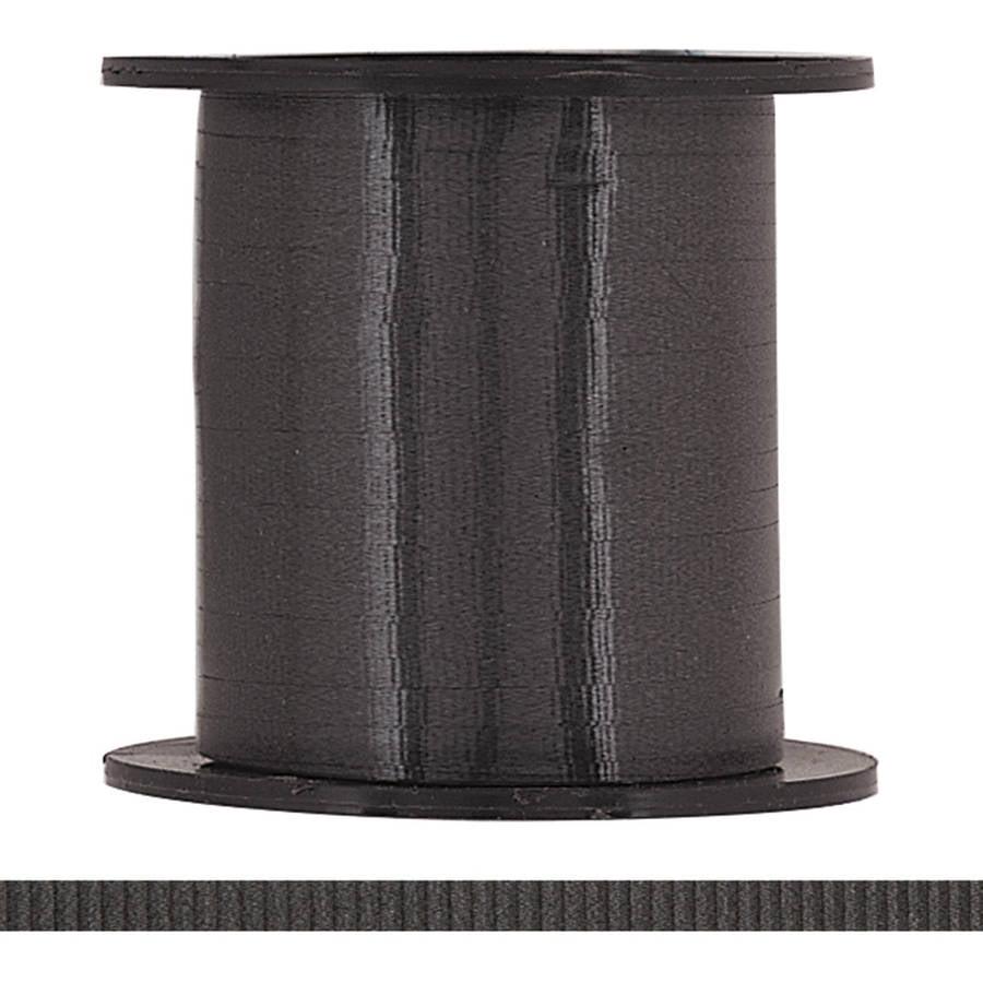 Curling Ribbon, Black, 500 yd, 1ct