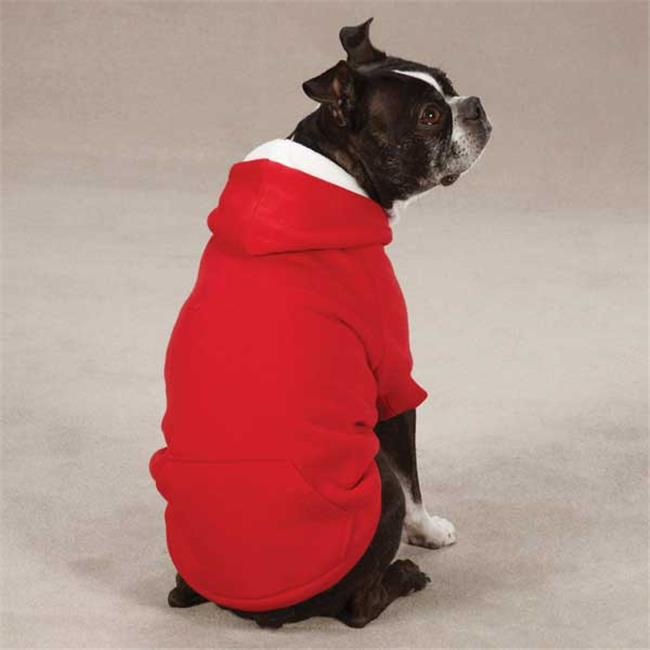 Zack & Zoey Fleece Lined Hoodie Large Red  - UM2207 20 90 - image 1 of 1