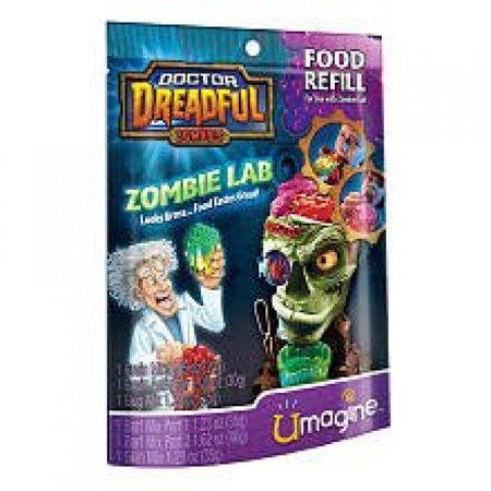 Doctor Dreadful Zombies Zombie Lab Food Refill - Zombie Docter