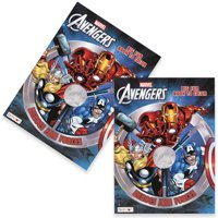 Avengers 96 pg Jumbo Coloring & Activity Book-1PC