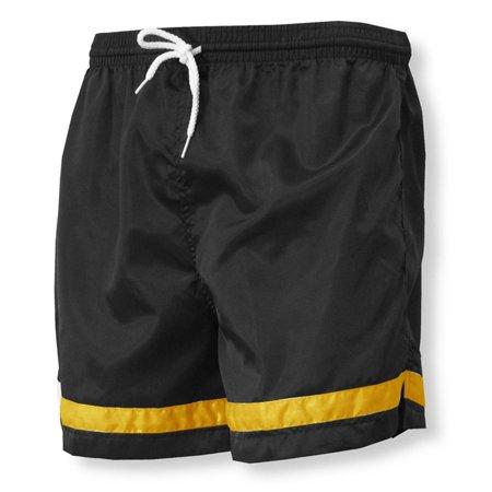Nylon Satin Shorts - Vashon nylon team soccer shorts
