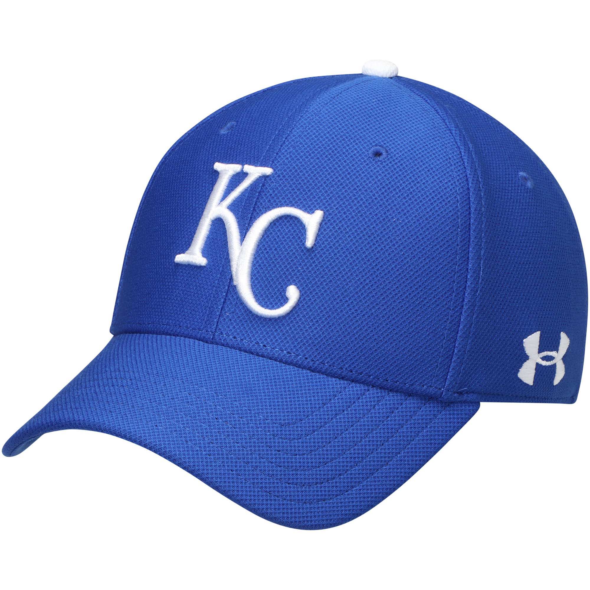 Kansas City Royals Under Armour Blitzing Performance Adjustable Hat - Royal - OSFA