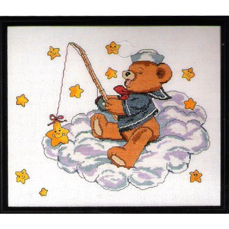 Tiger Cross Stitch Pattern - Catch a Falling Star Counted Cross Stitch Pattern By Janlynn