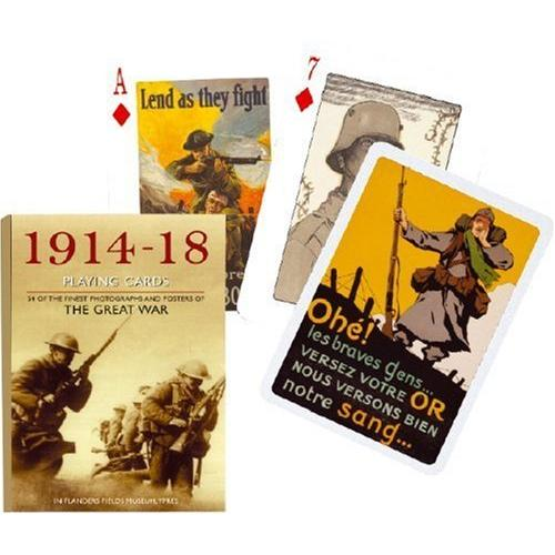 The Great War World War I Playing Cards Deck