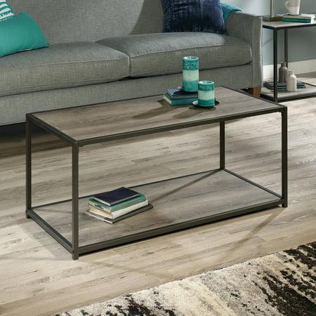 Mainstays Metro Coffee Table Gray Oak Finish Grey Oak Ebay
