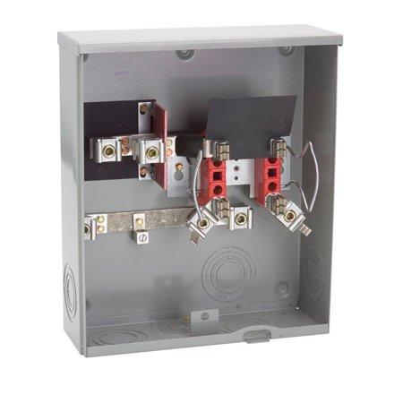 Milbank 200 Amp Ringless Underground Meter Socket (Store