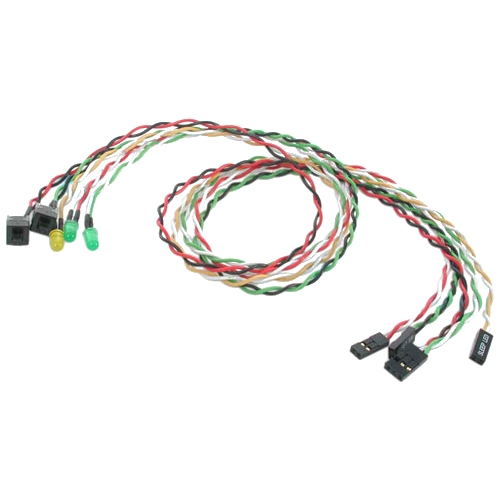 StarTech Replacement Power Reset LED Wire Kit for ATX Case Front Bezel