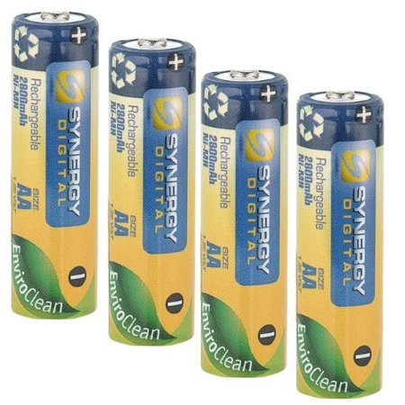 Aa Digital Camera Batteries - Canon Powershot SX20 IS Digital Camera Battery Replacement for 4 AA NiMH 2800mAh Rechargeable Batteries