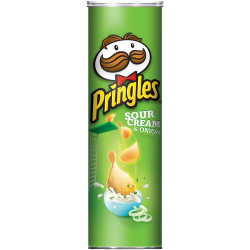 ip Pringles Sour Cream Onion Potato Crisps  oz