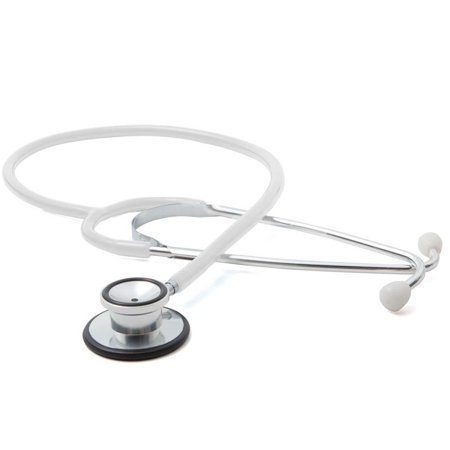 new!! proscope 670w dual head stethoscope, white - free shipping