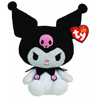 Ty Beanie Bhies Kuromi Hello Kitty Plush