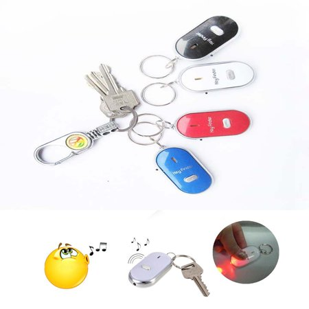 Key Safeguard Anti Lost Beep & Finder With Built In Led Light Blue