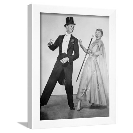 Fred Astaire and Ginger Rogers Dancing Scene from Top Hat Film ...