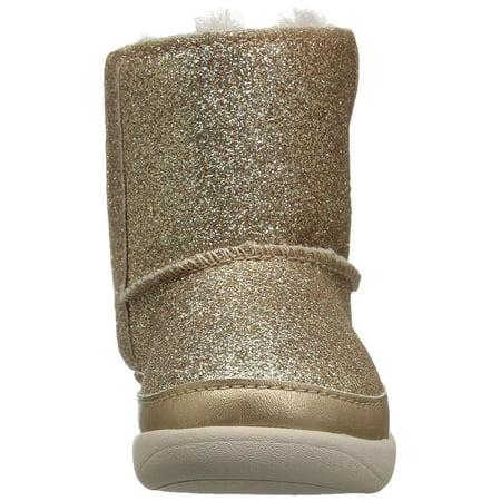 7b94afd63a0 UGG Keelan Glitter Gold Metallic Glitter Infant Ankle | Walmart Canada