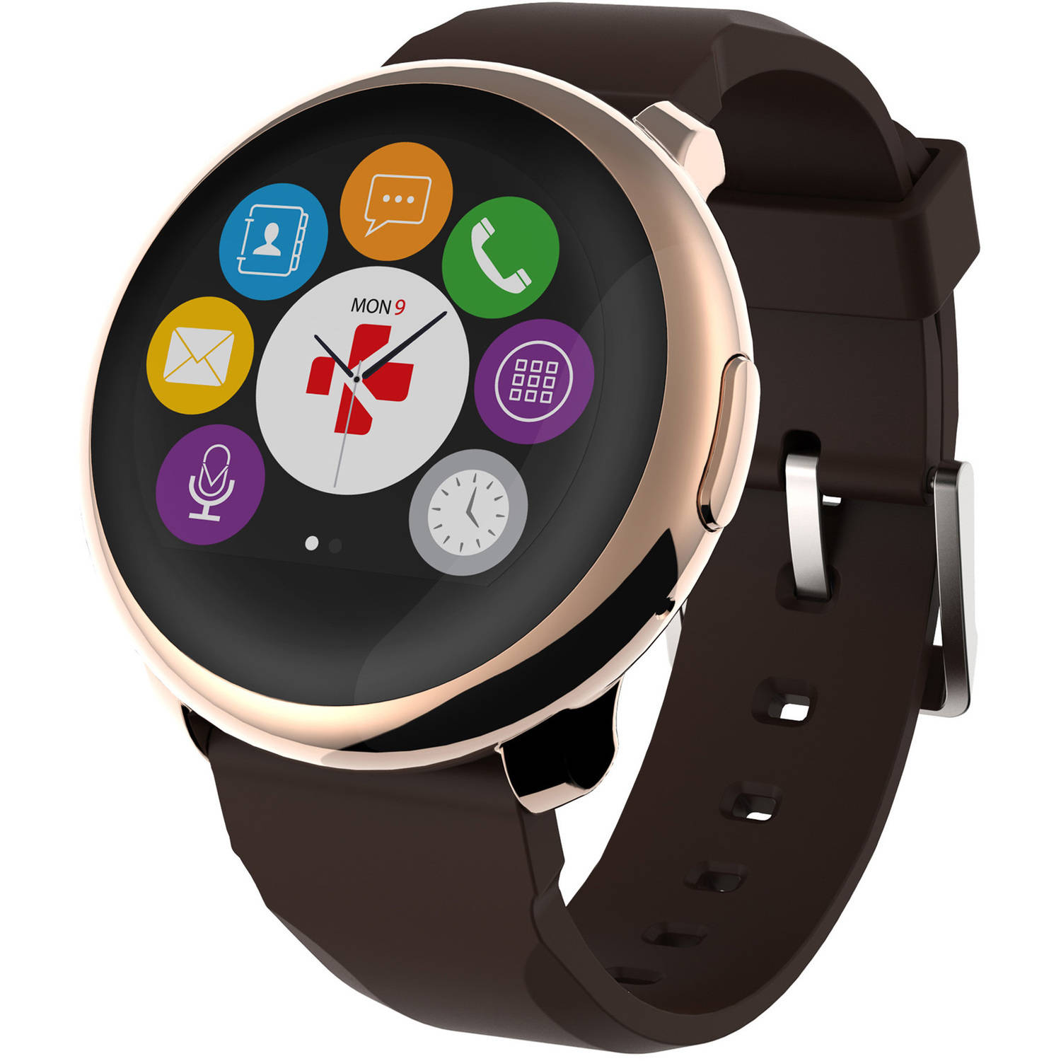 Mykronoz Zeround Smartwatch with Circular Color Touchscreen
