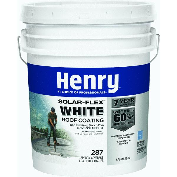Henry HE287SF871 5 Gallon SolarFlex Roof Coating