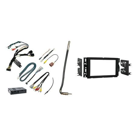 Chevrolet Silverado Pickup For 2007-2011 Double DIN Metra Car Stereo Installation Package - Metra Car Audio