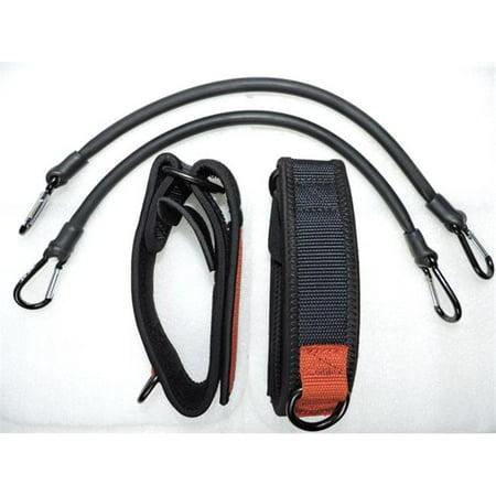 Apex 2 Leg & Foot Belts with 2 Long -