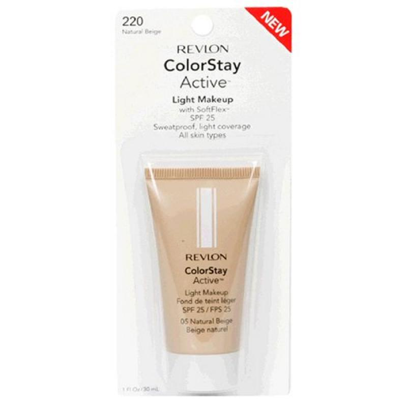 Revlon ColorStay Active Light Makeup with SoftFlex, All S...