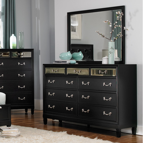 Wildon Home  9 Drawer Dresser with Mirror