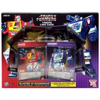Transformers Blaster VS Soundwave Trading Card Game