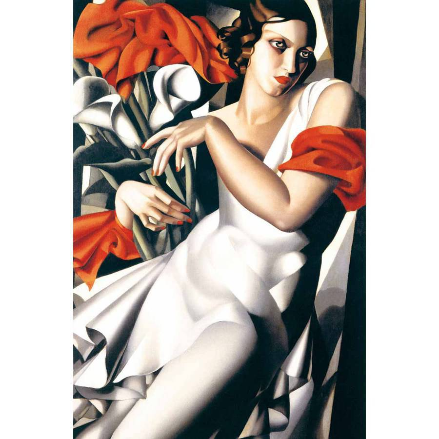 Lempicka Portrait of Ira Fine Art Reproduction