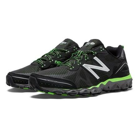 New Balance Mens Mt710 Neutral Trail Running Shoe Black Green 11 5 D Us
