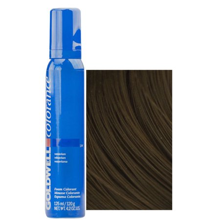 Goldwell Colorance Soft Color Foam, 6n Dark Blonde, 4.2 Ounce