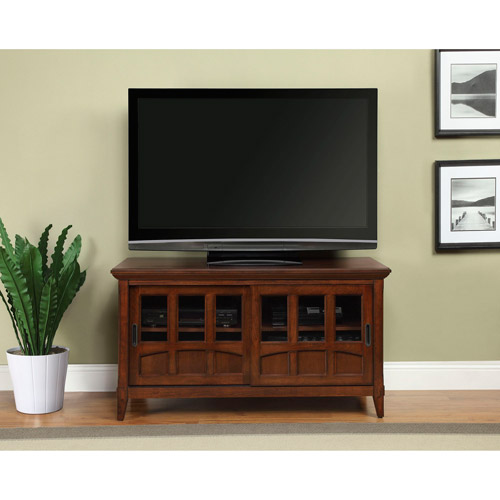 Altra Antique Cherry TV Stand for TVs up to 52""