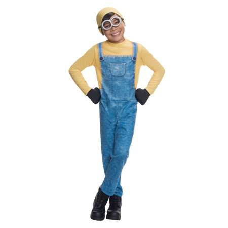 Minions Boys Minion Bob Dress Up Outfit Halloween Costume - Minions Halloween Outfit