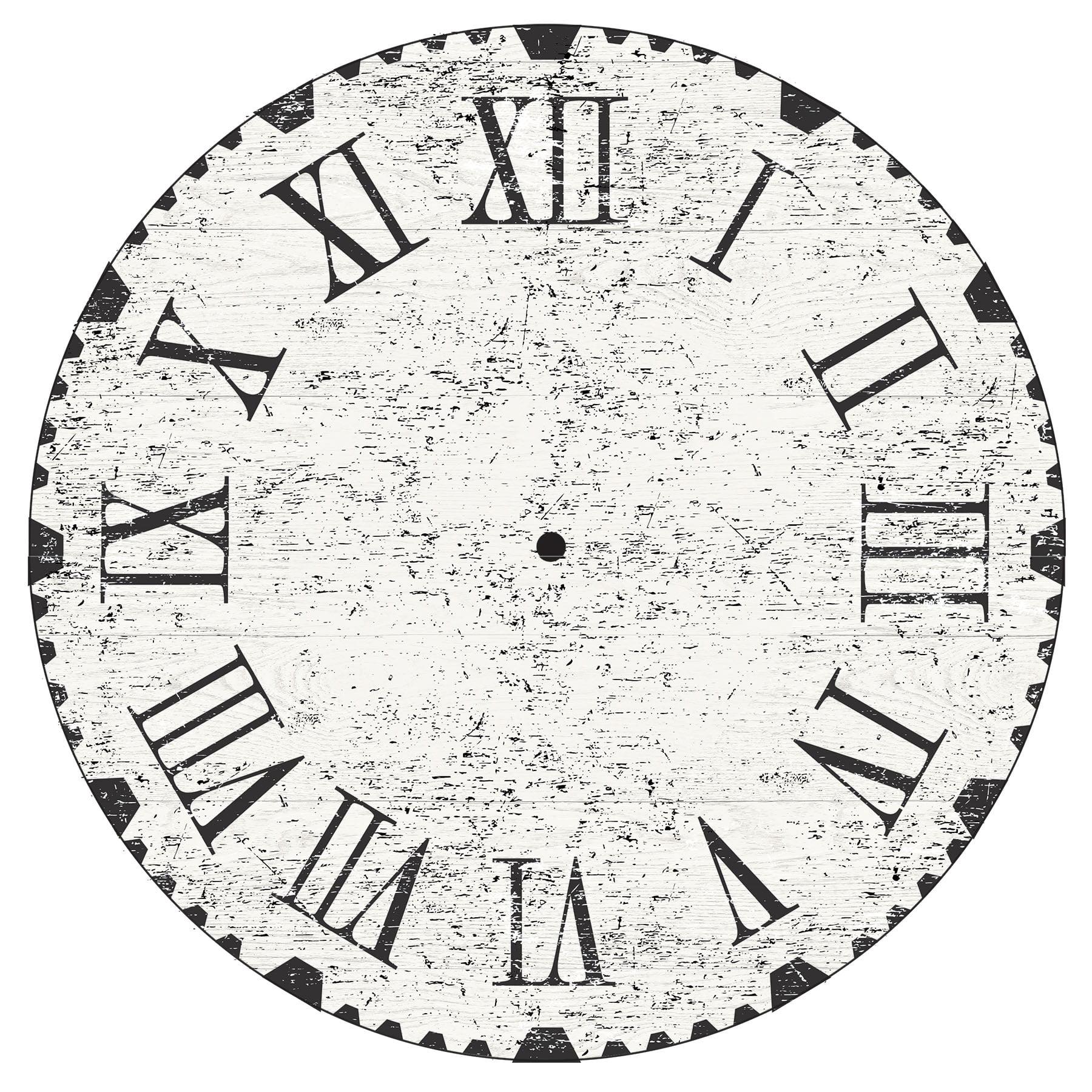 WallPops Reclaimed Clock Wall Art Kit