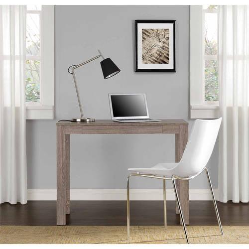 Altra Furniture Delilah Parsons Desk With Drawer Walmart Com