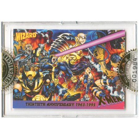 Image Comics Wizard Magazine X-Men 30th Anniversary Single Trading Card [Limited Edition, RANDOM Number ]