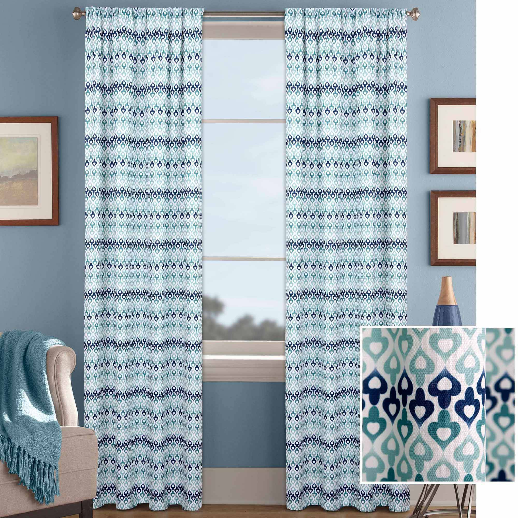 Better Homes And Gardens Morocco Curtain Panel   Walmart.com