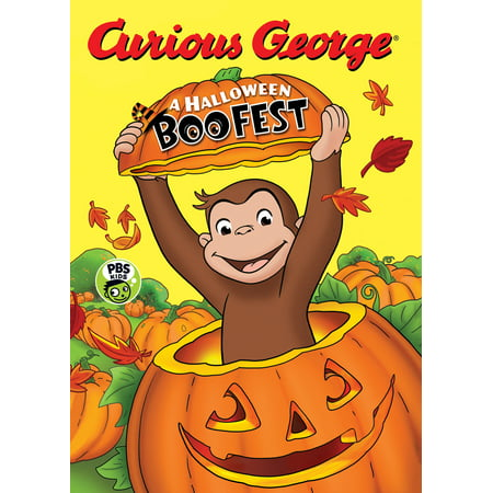 Curious George: A Halloween Boo Fest (Board Book) - Curious George Halloween Story