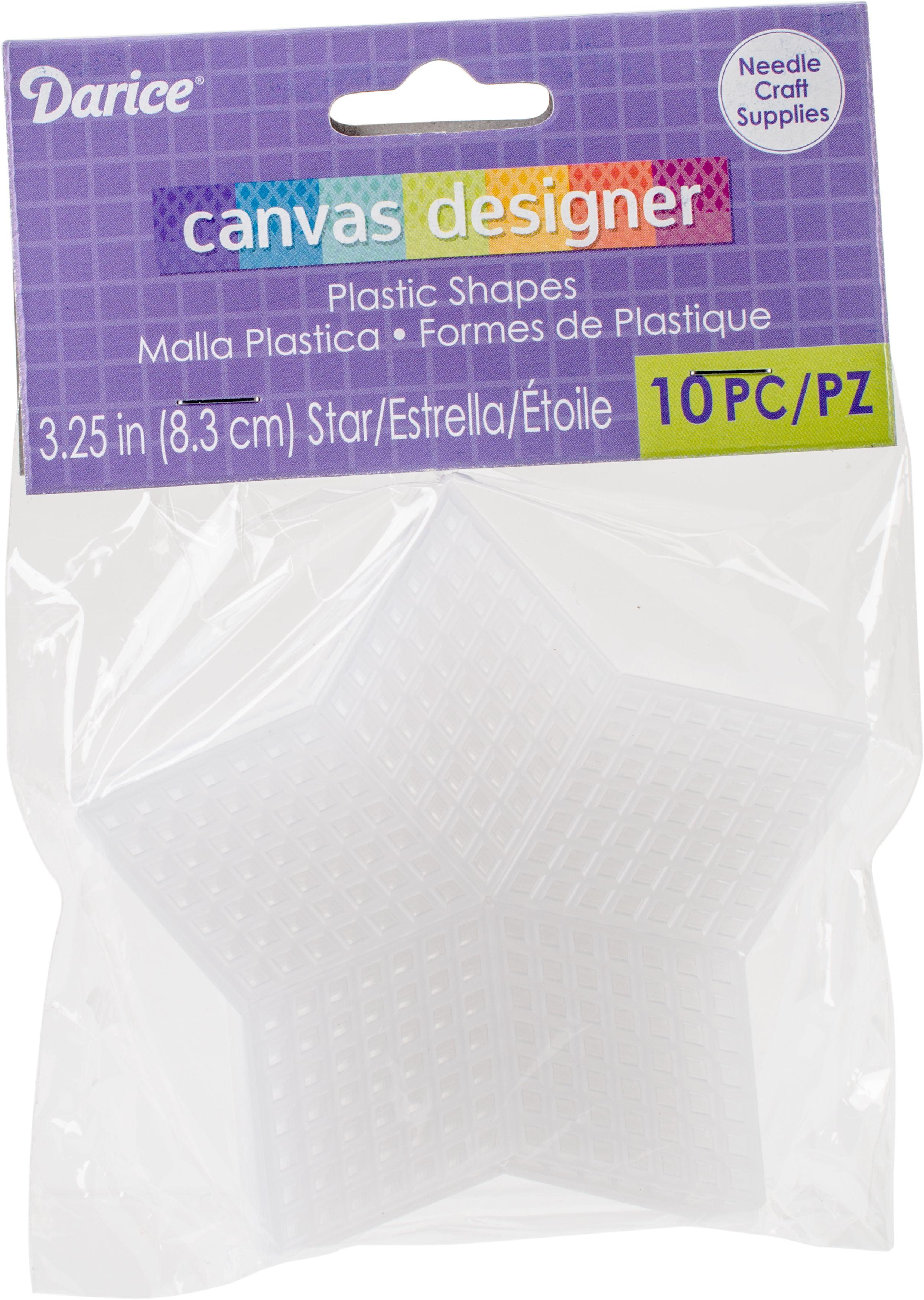 Craft Plastic Mesh Canvas in a Purse Form 14 x 3 Inches PURSEFORM CLR 12 Pack DIY Purse Frame