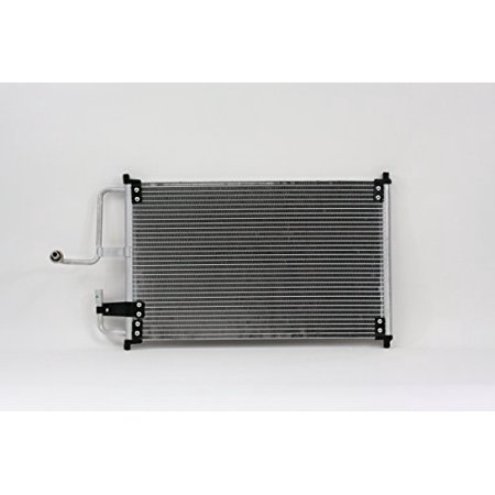 A-C Condenser - Pacific Best Inc For/Fit 4404 93-02 Ford Escort Tracer 98-03 ZX2 WITHOUT