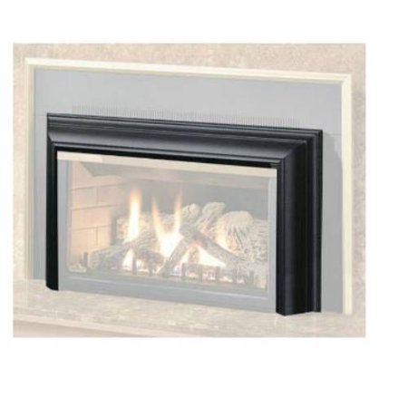 Free Shipping. Buy Aluminum Extrusion 3-Sided Fireplace Trim Kit - Satin Black at Walmart.com