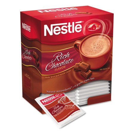 Nestl © Hot Cocoa Mix, Rich Chocolate, .71oz, 50/Box
