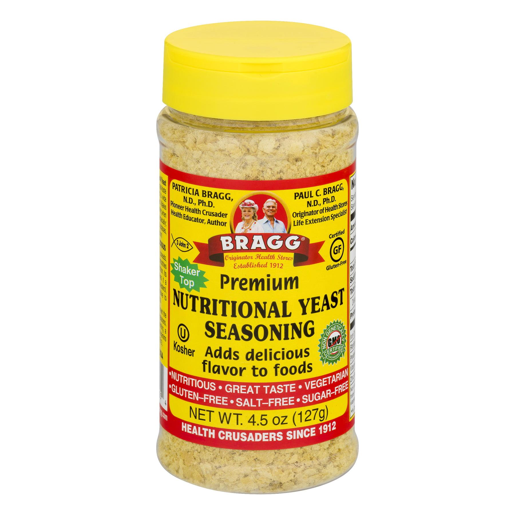 Bragg Premium Nutritional Yeast Seasoning, 4.5 OZ
