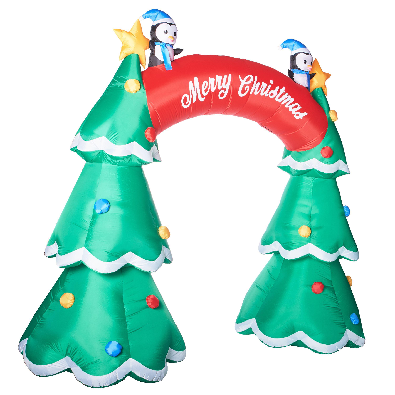 Holiday Time Christmas Tree Archway Inflatable, 12\' – Walmart ...