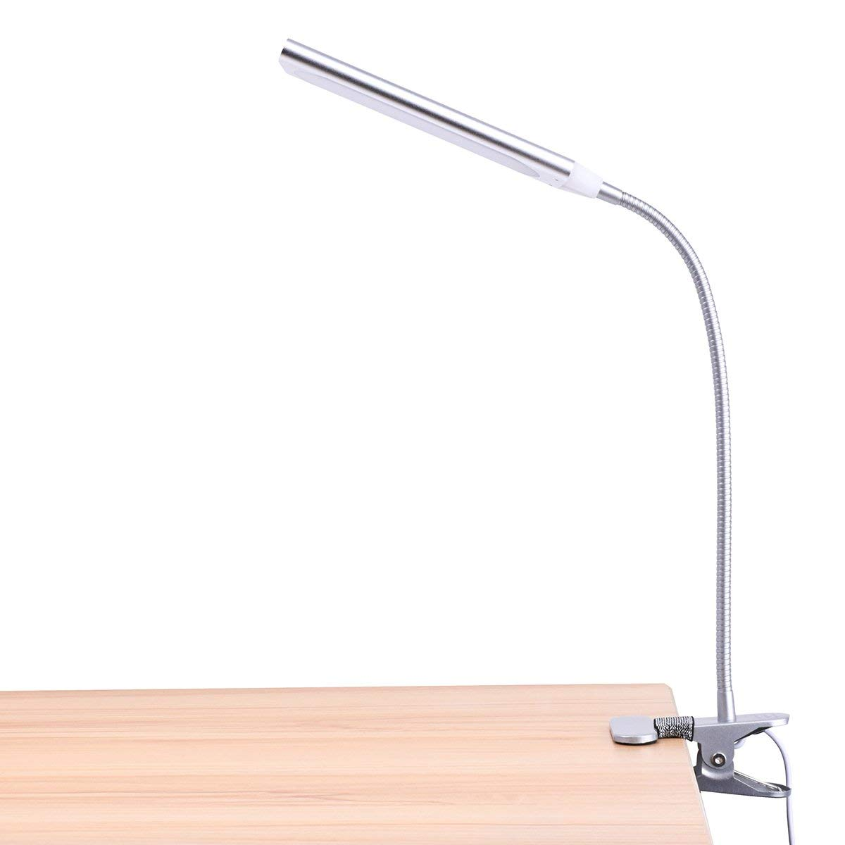Clip on Light//Desk Lamp USB 3 Color Clip 8W Led Clip Lamp with 11 Brightness