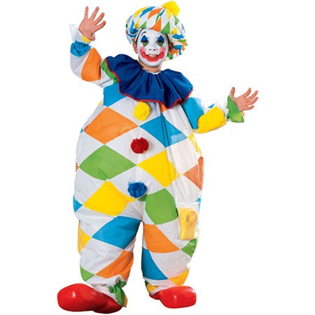 Child Inflatable Clown Costume Rubies 38904 (Children Clown Costume)