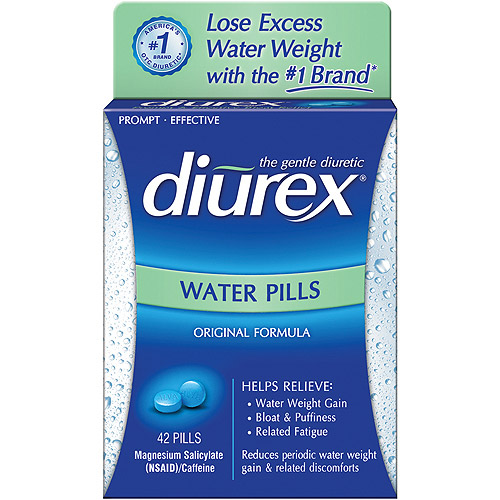 Diurex Original Formula Water Pills, 42ct
