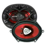 Boss Audio CH5720 Chaos Exxtreme 5' x 7' 2-way 225-watt Full Range Speakers